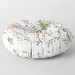 Natures Bounty Floor Pillow