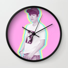 pastel Baekhyun Wall Clock