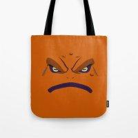 naruto Tote Bags featuring NARUTO - GAMAKICHI by Raisya