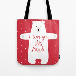 Bear hugs Tote Bag