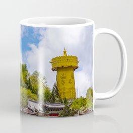 Giant tibetan prayer wheel Coffee Mug