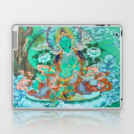 Green Tara Laptop & iPad Skin