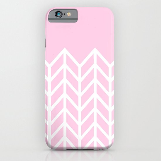 LACE CHEVRON (PINK) iPhone & iPod Case