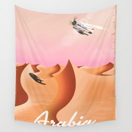 Arabia By Air Wall Tapestry