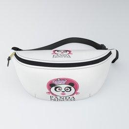 Panda Princess Fanny Pack