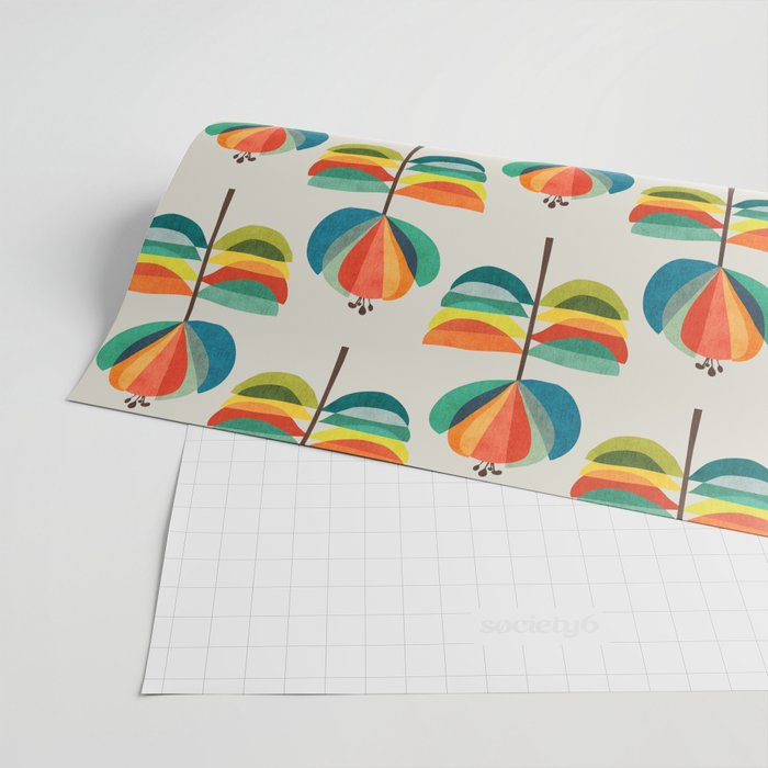 Whimsical Bloom Wrapping Paper