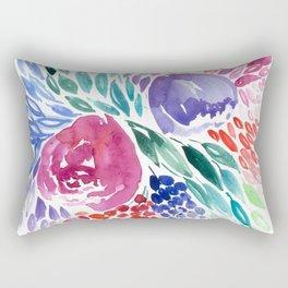 Floral Swirl Rectangular Pillow