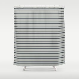 Benjamin Moore 2019 Trending Color Hale Navy Blue Gray HC-154 on Color of the Year 2019 Metropolitan Shower Curtain
