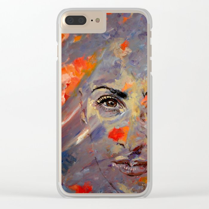 Berrin Clear iPhone Case