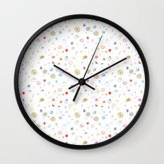 space pattern Wall Clock