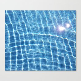 Dive in and Relax Canvas Print