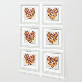 Framed Heart Wallpaper