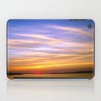 georgia iPad Cases featuring Georgia Sunset by Amy Rowland