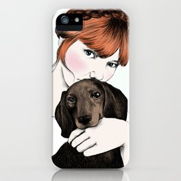 Emily and Arthur Miller iPhone Case