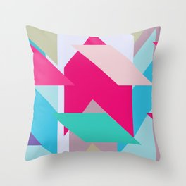 Abstracts colors Nr.3 Throw Pillow