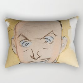 Vincent Price as EggHead Rectangular Pillow