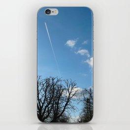 Blue Sky over Richmond Park iPhone Skin