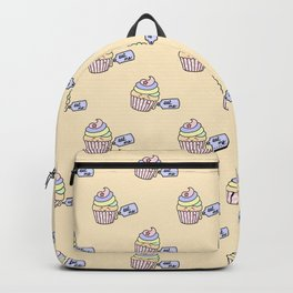 Eat Me Rainbow Cupcake Backpack