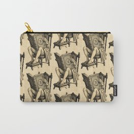 Ex Libris 'The Inveterate Reader' Carry-All Pouch