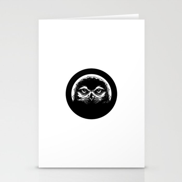 meh.ro logo Stationery Cards