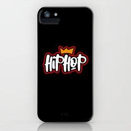 Hip Hop Music iPhone Case