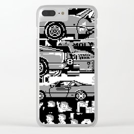 Untitled-12 (2014) Clear iPhone Case