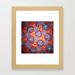 Kelidoscope blur Framed Art Print