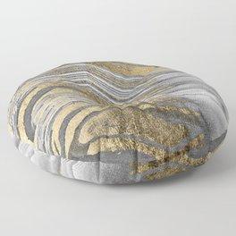 Abstract paint modern Floor Pillow