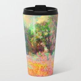 Coquelicots Travel Mug