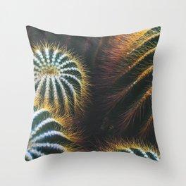 Botanical Gardens - Cactus #667 Throw Pillow