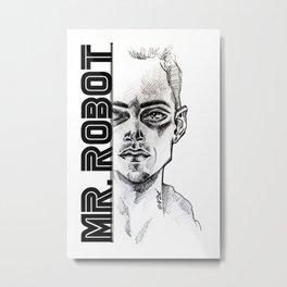 Mr.Robot Metal Print