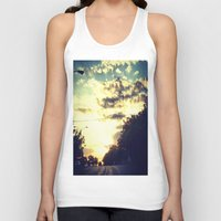 texas Tank Tops featuring Texas by Camille Renee
