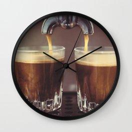 Espresso Coffee Wall Clock