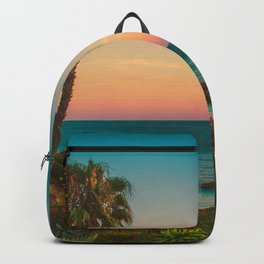 Warm Sunset Tropics (Color) Backpack