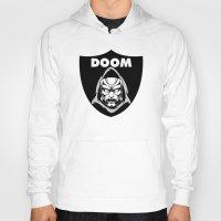 doom Hoodies featuring Doom by Buby87