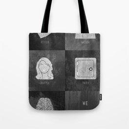 We Provide Leverage Tote Bag