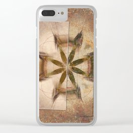 Romyko Impression Flower  ID:16165-085322-56301 Clear iPhone Case