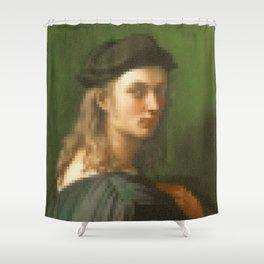 Portrait of Bino Altoviti Shower Curtain