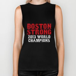 Boston Strong Red Sox World Series Champions Championship Ortiz husband T-Shirts Biker Tank