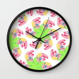 Punchy Colours Wall Clock