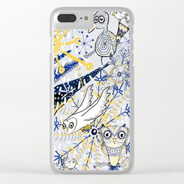 Winter Mod Limited Color Palette Clear iPhone Case
