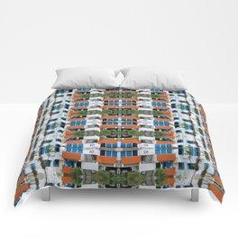 Cuban Eco Village Comforters