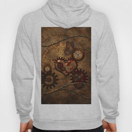Steampunk, noble design Hoody