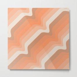 Soleil Waves Metal Print