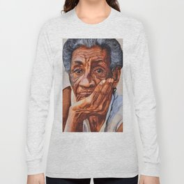 Cuban Abuela Long Sleeve T-shirt