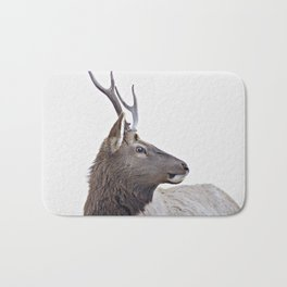 elk #society6 #decor #buyart Bath Mat