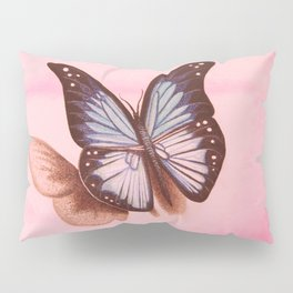 L'amour vogue avec le papillon Pillow Sham