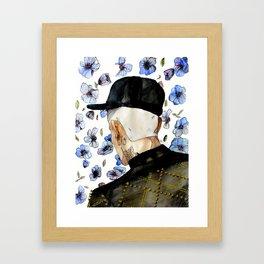 floral no. 1 Framed Art Print
