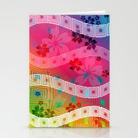 band Stationery Cards featuring hawaii band by Norma Lindsay
