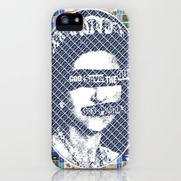 God Save the Queen - Digital iPhone Case